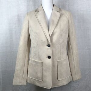 Gorgeous Bone colored Tahari blazer NWT